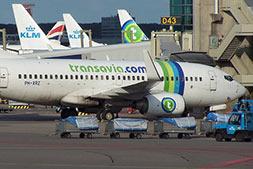 transavia vliegtuigen